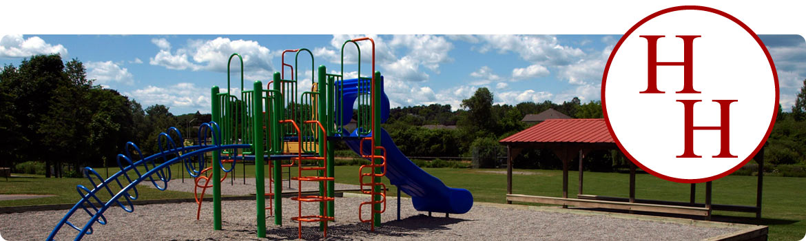 This is a picture of the play structure.