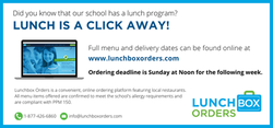 Lunch Box Orders